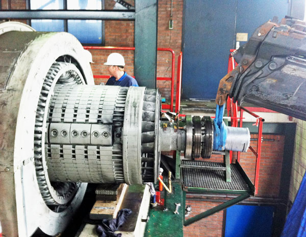 Removal of the rotor