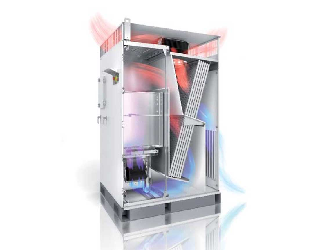 Efficient and Robust cooling concept