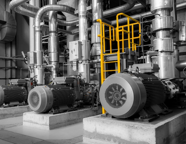 Most industrial pump types to be serviced