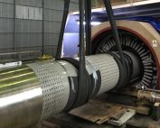 Lifting rotor large turbogenerator