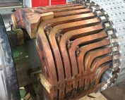 Inspection of the rotor winding turbogenerator